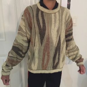 100% authentic coogi sweater